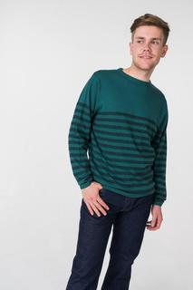 Джемпер мужской BLUE SEVEN 376161X зеленый L