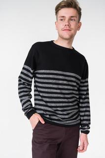 Джемпер мужской BLUE SEVEN 376161X черный XL
