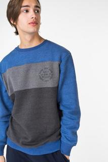 Толстовка мужской BLUE SEVEN 370041X синий XL