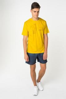 Футболка мужская BLUE SEVEN 302574 X желтая L