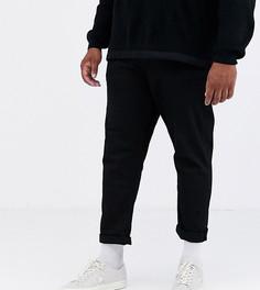 Черные суженные книзу джинсы ASOS DESIGN Plus-Черный