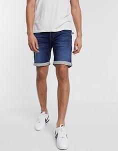 Синие джинсовые шорты Jack & Jones Intelligence-Синий