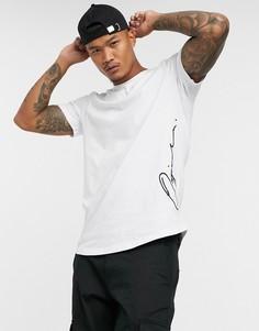 Белая футболка с логотипом Jack & Jones Originals-Белый