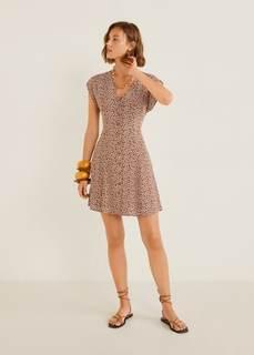 Платье с цветами - Serena Mango