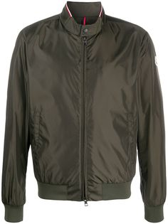 Moncler короткая куртка на молнии