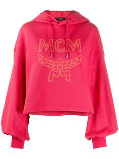 MCM укороченное худи с логотипом