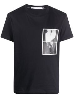 Calvin Klein Jeans футболка с фотопринтом