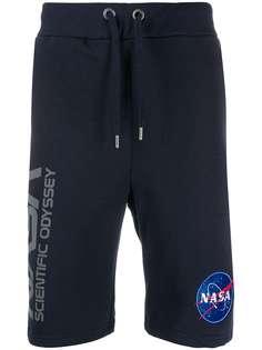 Alpha Industries спортивные шорты с принтом NASA