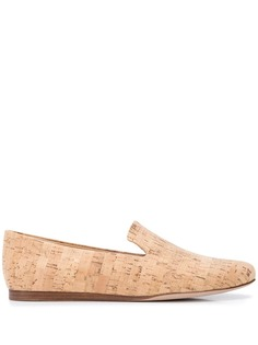 Veronica Beard Griffin flat cork loafers