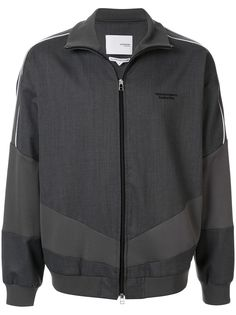 Yoshiokubo спортивная куртка со вставками