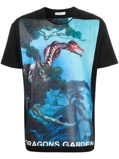 Valentino футболка Dragon Garden с короткими рукавами