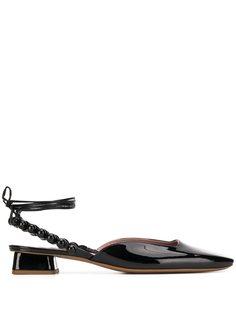 Rayne туфли с бусинами на низком каблуке