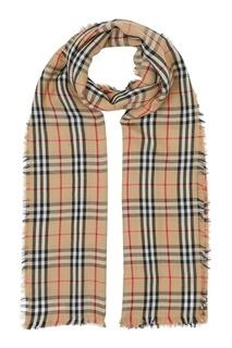 Легкий шарф в клетку Burberry