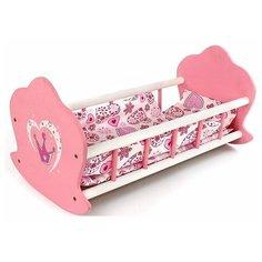 Mary Poppins Кроватка-люлька Корона (67115) розовый