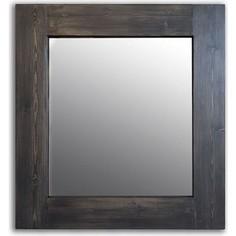 Настенное зеркало Дом Корлеоне Венге 80x80 см