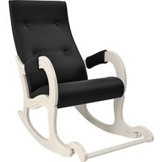 Кресло-качалка Мебель Импэкс Модель 707 дуб шампань, к/з Vegas lite black