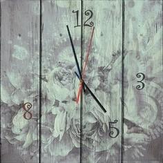 Настенные часы Дом Корлеоне Время цветов 40x40 см
