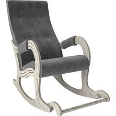 Кресло-качалка Мебель Импэкс Модель 707 дуб шампань/патина, ткань Verona antrazite grey