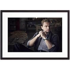 Постер в рамке Дом Корлеоне Леонардо ди Каприо 30x40 см
