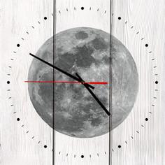 Настенные часы Дом Корлеоне Луна 50x50 см