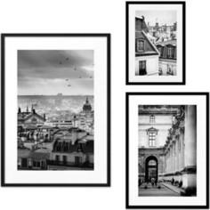 Набор из 3-х постеров Дом Корлеоне Коллаж Париж №65 30х40 см 1 шт., 40х60 см 1 шт., 50х70 см 1шт.