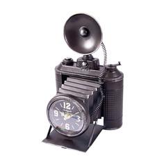 Часы Фотокамера настольные Русские подарки 26х16х38см