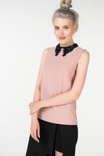 Блуза женская Incity 1.1.2.18.01.04.00609/151512 розовая 48 RU