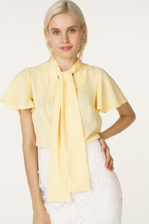 Блуза женская adL 11533521000 желтая 42 RU