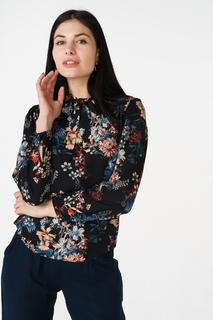Блуза женская adL 11532136000 черная 42 RU