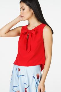 Блуза женская adL 11526886006 красная 46 RU