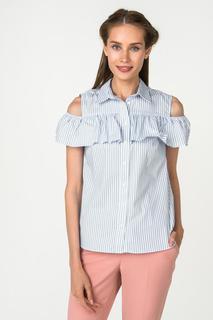Блуза женская adL 13033936001 голубая M