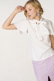 Блуза женская adL 11533521000 белая 42 RU