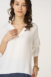 Блуза женская adL 11531851001 белая XS