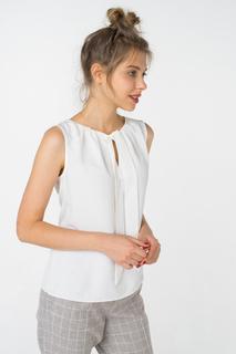Блуза женская adL 11526886006 белая 40 RU