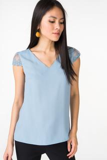Блуза женская adL 11529625003 голубая 44 RU
