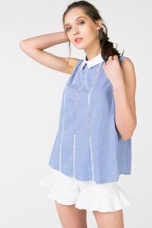 Блуза женская adL 11534436000 голубая S