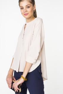 Блуза женская adL 11528050006 бежевая 42 RU