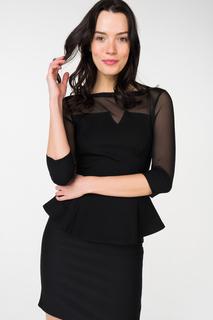 Блуза женская adL 11532041000 черная 40 RU