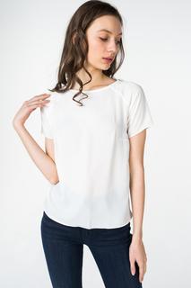 Блуза женская adL 11524788011 белая 40 RU