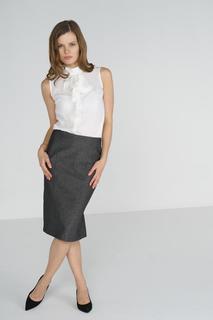 Блуза женская adL 11531850000 белая 40 RU