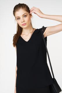 Блуза женская adL 11529625003 черная 42 RU