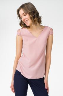 Блуза женская adL 11529625003 розовая 40 RU