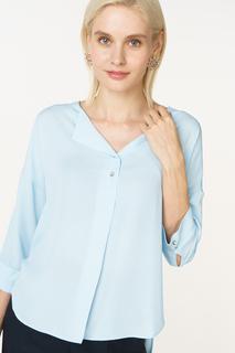Блуза женская adL 11528050006 голубая 46 RU
