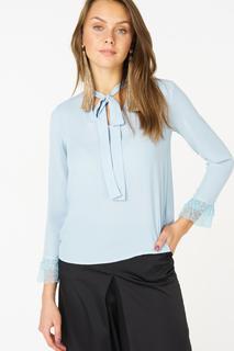 Блуза женская adL 11533803000 голубая XS