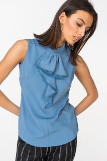 Блуза женская adL 11531850000 голубая 42 RU