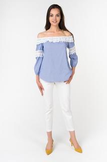 Блуза женская adL 11534437000 голубая XS