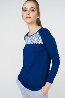 Джемпер женский Grishko AL - 3443 синий 44 RU