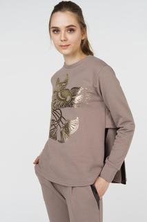 Джемпер женский Grishko AL - 3472 коричневый 48 RU