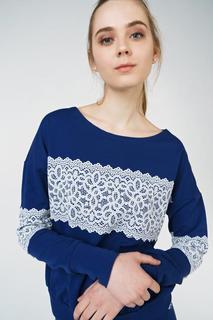 Толстовка женский Grishko AL - 3453 синий 46 RU