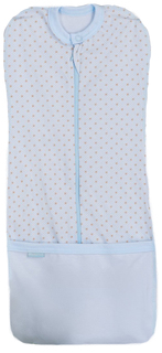 Пеленка-трансформер для мальчиков Трия НВ. Кантри голубая звездочка, размер 50-56 см Triya